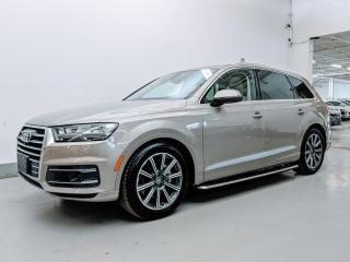 Used 2017 Audi Q7 TECHNIK/DRIVER ASSISTANCE PLUS PKG/DYNAMIC RIDE PKG/SUNSHADES! for sale in Toronto, ON