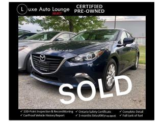 Used 2016 Mazda MAZDA3 GS-SKY, BACK UP CAMERA, HEATED SEATS!! for sale in Orleans, ON