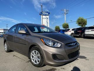 Used 2014 Hyundai Accent GL AUTO Sieges chauffants for sale in St-Eustache, QC