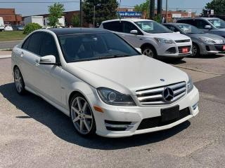 Used 2012 Mercedes-Benz C-Class C 350 for sale in Toronto, ON