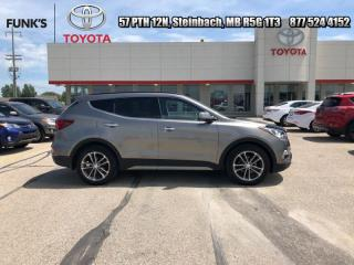 Used 2017 Hyundai Santa Fe Sport 2.0T Limited  - Navigation for sale in Steinbach, MB