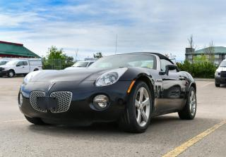 Used 2007 Pontiac Solstice CONVERTIBLE for sale in Red Deer, AB