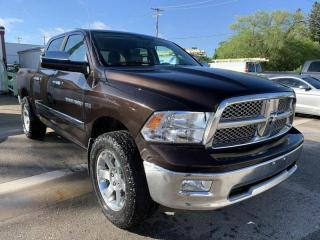 Used 2011 RAM 1500 Laramie for sale in Steinbach, MB