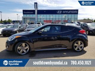 Used 2013 Hyundai Veloster TURBO/LEATHER/SUNROOF/HEATED SEATS for sale in Edmonton, AB