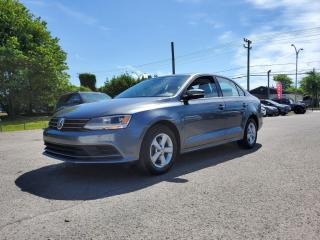 Used 2015 Volkswagen Jetta *TOIT*CAMERA*BT* 60$/SEM for sale in St-Jérôme, QC