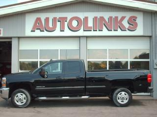 Used 2017 Chevrolet Silverado 2500 LT  NAVIGATION / DOUBLE CAB / LONG BOX / 2WD for sale in St Catharines, ON
