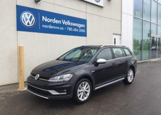 New 2019 Volkswagen Golf Alltrack HIGHLINE for sale in Edmonton, AB