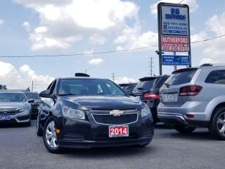 Used 2014 Chevrolet Cruze LT  AIR CONDITIONING  BACK UP CAMERA CLEAN CARFAX for sale in Brampton, ON