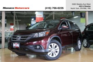 Used 2014 Honda CR-V TOURING AWD - LEATHER|NAVI|BACKUP|SUNROOF for sale in North York, ON