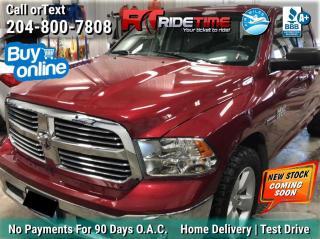 Used 2014 RAM 1500 SLT for sale in Winnipeg, MB