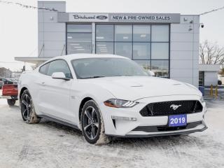 Used 2019 Ford Mustang GT 10-SPEED | CLEAN CARFAX | LOW KM for sale in Winnipeg, MB
