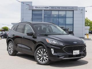 New 2020 Ford Escape Titanium Hybrid PANOROOF | NAV | REMOTE START for sale in Winnipeg, MB