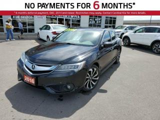 Used 2016 Acura ILX A-Spec, Leather, NAV, Sunroof. for sale in Niagara Falls, ON