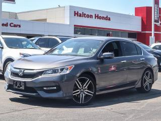Used 2017 Honda Accord SPORT|SERVICE HISTORY ON FILE for sale in Burlington, ON