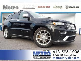 Used 2014 Jeep Grand Cherokee Summit Ecodiesel 4x4 for sale in Ottawa, ON