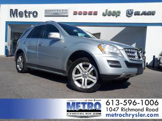 Used 2011 Mercedes-Benz ML-Class ML350 BlueTEC 4MATIC for sale in Ottawa, ON