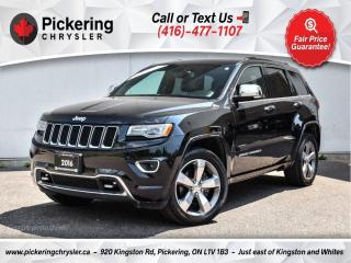 Used 2016 Jeep Grand Cherokee Overland - Cooled Seats/NAV/Pano Roof/Trailer TOW for sale in Pickering, ON