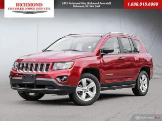 Used 2017 Jeep Compass Sport/North for sale in Richmond, BC