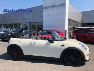 Used 2017 MINI Cooper CONVERTIBLE Premium *Convertible *Park-Assist *Cuir/Leather for sale in Saint-Hubert, QC