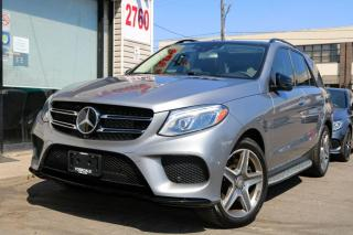 Used 2016 Mercedes-Benz GLE-Class GLE400 4M-Black Package, Navi, PanoRoof, Blind Spot for sale in North York, ON