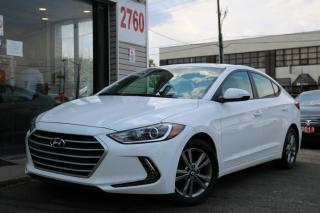 Used 2017 Hyundai Elantra Cam, Blind Spot, Alloys, Heated Seats, Non Rental for sale in North York, ON