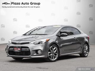 Used 2016 Kia Forte Koup SX | LOADED | 7 DAY EXCHANGE for sale in Richmond Hill, ON