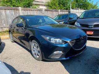 Used 2016 Mazda MAZDA3 Sport GX | MANUAL TRANSMISSION | FINANCING AVAILABLE for sale in Scarborough, ON
