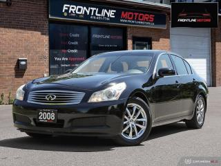 Used 2008 Infiniti G35 4DR RWD for sale in Scarborough, ON