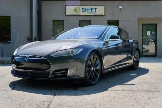 Used 2014 Tesla Model S P85D AUTOPILOT, REAR RECARO, CARFAX CLEAN, CPO WARRANTY! for sale in Burlington, ON