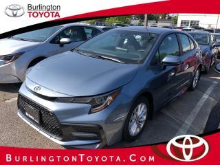 New 2020 Toyota Corolla SE CVT for sale in Burlington, ON