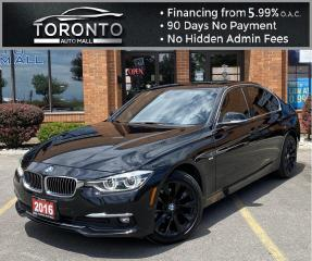 Used 2016 BMW 3 Series 328d xDrive Sedan NAVI Back-Up Camera Moonroof Bluetooth Parking Distance Control for sale in North York, ON
