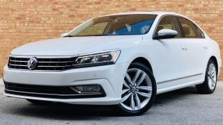 Used 2017 Volkswagen Passat HIGHLINE|CERTIFIED LEATHER|SUNROOF|NAVI|REARVIEW|REMOTE STARTER| for sale in Mississauga, ON