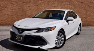 Used 2018 Toyota Camry LE|CERTIFIED| REARVIEW|ALLOYS|PARKINGASSIST| for sale in Mississauga, ON