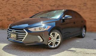 Used 2017 Hyundai Elantra Limited| CERTIFIED| TEXT US|647.678.7778| SUNROOF|ALLOYS| for sale in Mississauga, ON