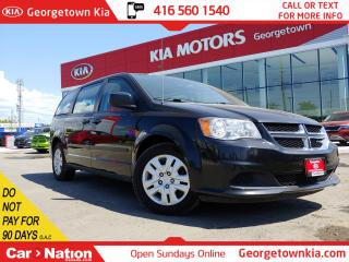 Used 2015 Dodge Grand Caravan CVP | ONLY 84K KMS | ONE OWNER | 3RD ROW STO'N'GO for sale in Georgetown, ON