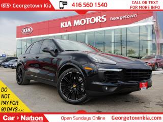 Used 2016 Porsche Cayenne S AWD | ACCIDENT FREE | NAVI | BU CAM | ROOF | B/T for sale in Georgetown, ON
