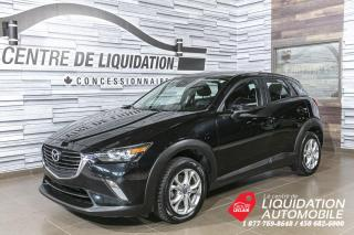 Used 2018 Mazda CX-3 GS+AWD+MAGS+CAM/REC+TOIT+BLUETOOTH for sale in Laval, QC