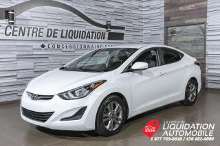 Used 2014 Hyundai Elantra GL+GR/ELEC+MAGS+A/C+BLUETOOTH for sale in Laval, QC