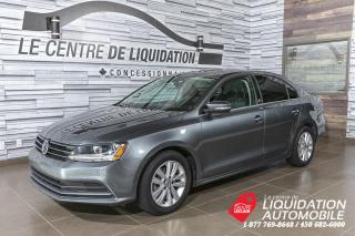 Used 2017 Volkswagen Jetta Wolfsburg Edition+MAGS+A/C+TOIT+CAM/REC+BLUETOOTH for sale in Laval, QC