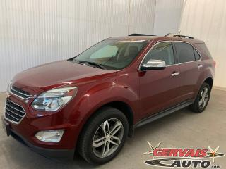 Used 2017 Chevrolet Equinox Premier AWD V6 GPS Cuir Toit ouvrant Mags for sale in Trois-Rivières, QC