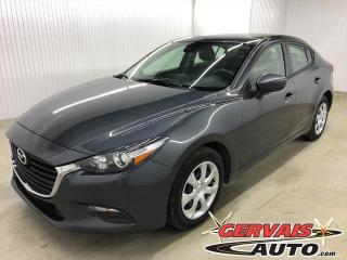 Used 2018 Mazda MAZDA3 GX NAVIGATION CAMÉRA DE RECUL  A/C for sale in Shawinigan, QC
