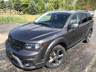 Used 2015 Dodge Journey Crossroad FWD for sale in Cayuga, ON