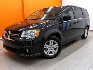 Used 2019 Dodge Grand Caravan CREW *STOW'N'GO* CAMERA RECUL *SIEGE ELECT* PROMO for sale in St-Jérôme, QC