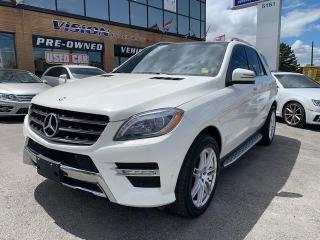Used 2013 Mercedes-Benz ML-Class 4MATIC 4dr ML 350 BlueTEC - NAVIGATION for sale in North York, ON