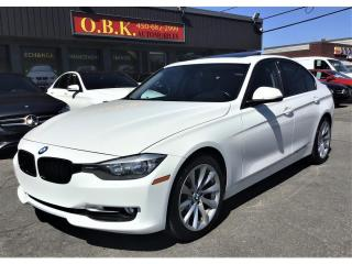 Used 2013 BMW 3 Series 320i xDrive AWD-TOIT OUVRANT-BLUETOOTH-CUIR-AUTOMA for sale in Laval, QC