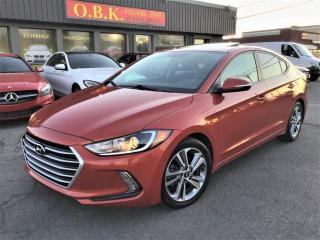 Used 2017 Hyundai Elantra GLS-AUTOMATIQUE-CAM RECUL-TOIT OUVRANT-BLUETOOTH- for sale in Laval, QC