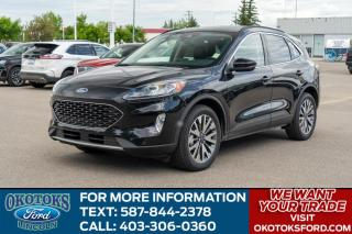 New 2020 Ford Escape Titanium Hybrid for sale in Okotoks, AB