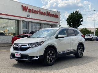 Used 2017 Honda CR-V One Owner CR-V Touring Leased New Right Here at Waterloo Honda! Certified Powertrain Warranty Until for sale in Waterloo, ON