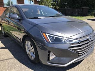 Used 2020 Hyundai Elantra Preferred w/Sun & Safety Package Sunroof with Heated Steering and Heated Seats ! Blind Spot Detect and Lane Departure with BackupCam, for sale in Kemptville, ON