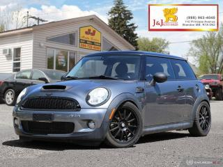 Used 2008 MINI Cooper S 6Spd ,Turbo , Sunroof for sale in Brandon, MB